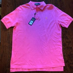 NWT Polo by Ralph Lauren Maui Pink